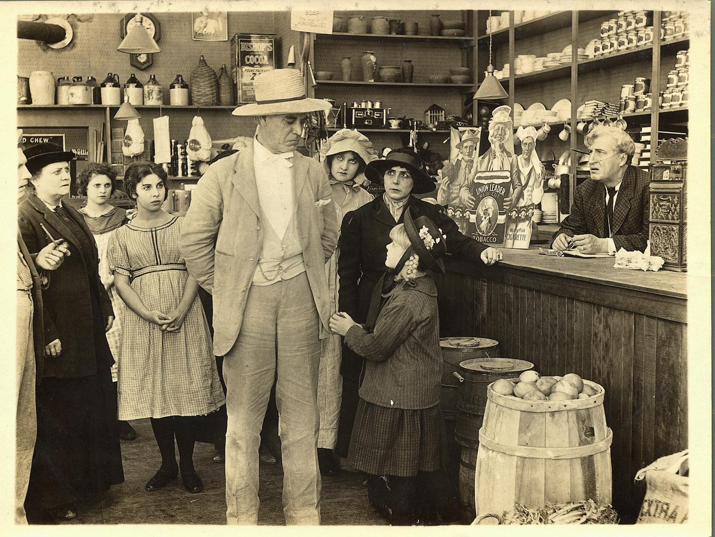 Edward Walters. The Crab, 1917. Coll. Cinémathèque française. D.R.