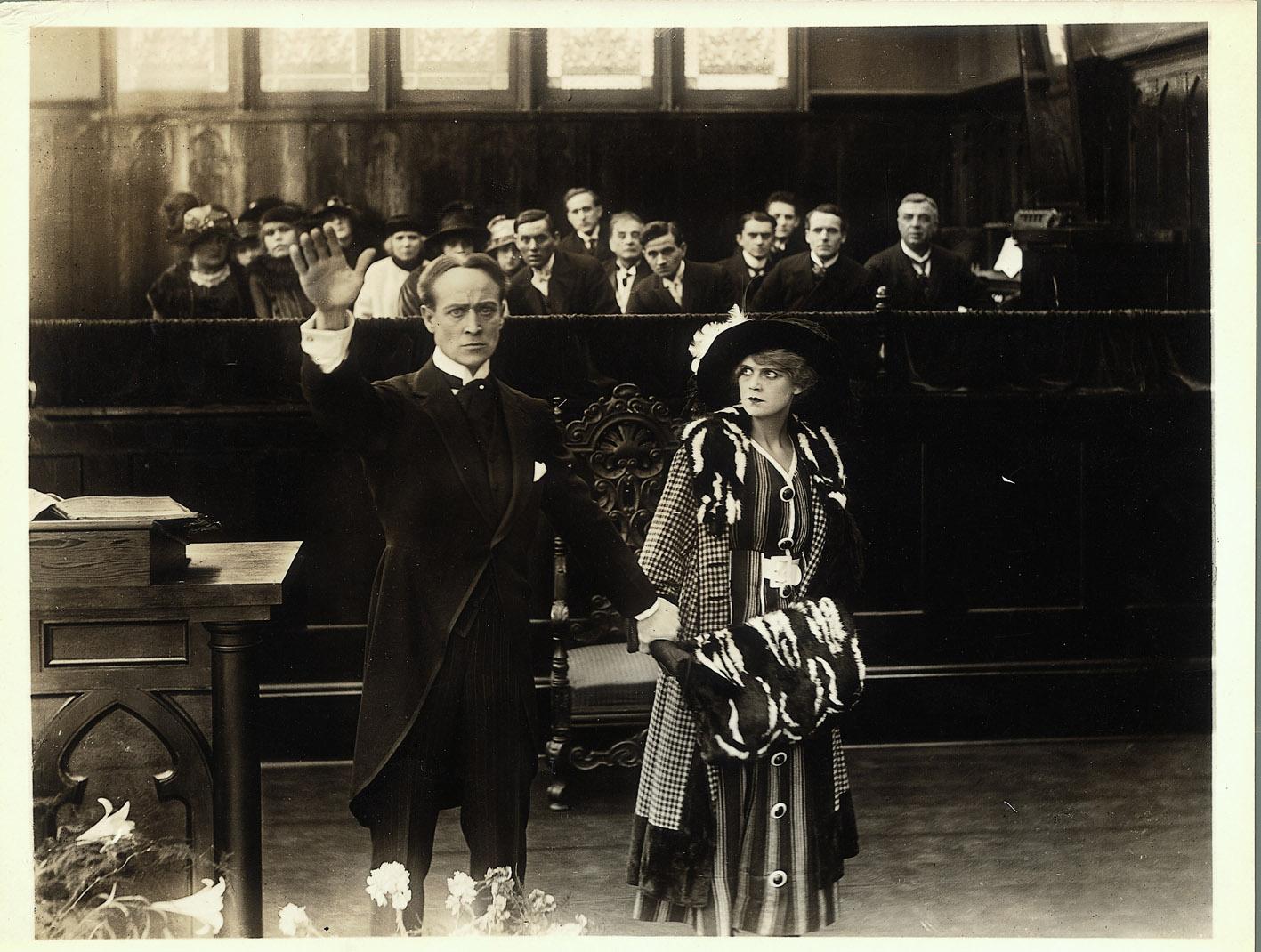 Reginald Barker, The Market of Vain Desire, 1916. Coll. Cinémathèque française. D.R.
